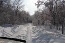 02.Дорога на гору после снегопада.