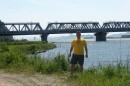 030.Мост на п.Восточный. От конечной точки путешествия &emdash; моста на п.Восточный мы через с.Владимиро-Александровское врнулись на трассу и через г.Находка во Владивосток. Маршрут длиной 503 км, занял у нас 13 часов.