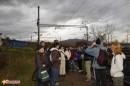 электричка домчала непугливых (передали дождь и похолодание) до Красноармейска